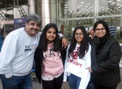 Kiran Thakur on Rajasthan Tour